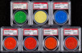 Baseball Cards:Lots, 1955-1960 Armour Coins PSA Graded Collection (7).. ...