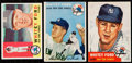 Baseball Cards:Lots, 1953-60 Topps Whitey Ford Trio (3). Includes: ...