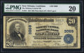 National Bank Notes:Louisiana, New Orleans, LA - $20 1902 Plain Back Fr. 651 The Whitney-Central NB Ch. # 3069. ...