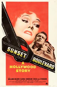 "Sunset Boulevard (Paramount, 1950). One Sheet (27"" X 41"") Style A"