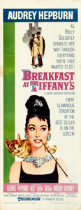 "Movie Posters:Romance, Breakfast at Tiffany's (Paramount, 1961). Insert (14"" X 36"") RobertMcGinnis Artwork.. ..."