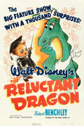 "Movie Posters:Animation, The Reluctant Dragon (RKO, 1941). One Sheet (27"" X 41"") .. ..."