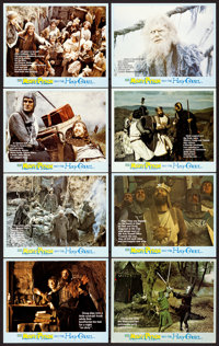 """Monty Python and the Holy Grail (EMI, 1975). British Mini Lobby Card Set of 8 (8"""" X 10""""). ... (Total: 8 Items)"""