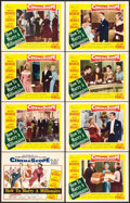 """Movie Posters:Comedy, How to Marry a Millionaire (20th Century Fox, 1953). Lobby Card Setof 8 (11"""" X 14"""").. ... (Total: 8 Items)"""