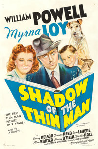 """Shadow of the Thin Man (MGM, 1941). One Sheet (27"""" X 41"""") Style B"""