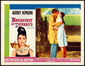 "Movie Posters:Romance, Breakfast at Tiffany's (Paramount, 1961). Lobby Card (11"" X 14"")Robert McGinnis Artwork.. ..."