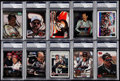 Olympic Cards:General, 1990's Dale Earnhardt Signed Card Collection (10) - PSA/DNAEncapsulated. . ...