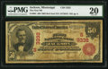 Jackson, MS - $50 1902 Red Seal Fr. 664 The First NB Ch. # (S)3332
