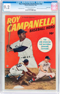 Golden Age (1938-1955):Non-Fiction, Roy Campanella, Baseball Hero #nn Crowley Copy Pedigree (FawcettPublications, 1950) CGC NM- 9.2 Off-white to white pages....