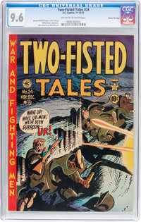 Two-Fisted Tales #24 Gaines File Pedigree (EC, 1951) CGC NM+ 9.6 Off-white to white pages