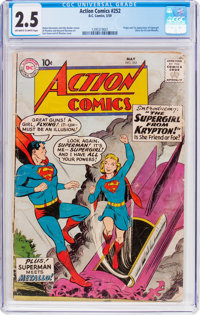 Action Comics #252 (DC, 1959) CGC GD+ 2.5 Off-white to white pages
