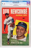 Golden Age (1938-1955):Non-Fiction, Don Newcombe #nn Crowley Copy Pedigree (Fawcett Publications, 1950)CGC NM- 9.2 Off-white to white pages....