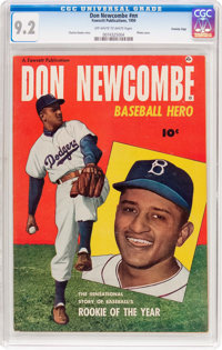 Don Newcombe #nn Crowley Copy Pedigree (Fawcett Publications, 1950) CGC NM- 9.2 Off-white to white pages