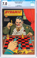 Golden Age (1938-1955):Crime, Dynamic Comics #12 (Chesler, 1944) CGC FN/VF 7.0 Cream to off-white pages....