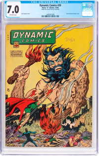 Dynamic Comics #20 (Chesler, 1946) CGC FN/VF 7.0 Off-white pages