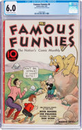 Platinum Age (1897-1937):Miscellaneous, Famous Funnies #8 (Eastern Color, 1935) CGC FN 6.0 Off-white towhite pages....