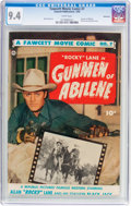 Golden Age (1938-1955):Western, Fawcett Movie Comic #7 Vancouver Pedigree (Fawcett Publications, 1950) CGC NM 9.4 White pages....