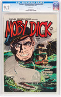 Golden Age (1938-1955):Adventure, Feature Presentations Magazine #6 Moby Dick - Vancouver Pedigree (Fox, 1950) CGC NM- 9.2 White pages....