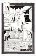Peter Gross and Jason Temujin Books of Magic #47 Partial Story Pages 1-2 Origina Comic Art