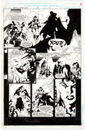 Original Comic Art:Panel Pages, Tom Grindberg, Bob Almond, and Harry Candelario Warlock and theInfinity Watch #23 Story Pag...