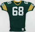 Football Collectibles:Uniforms, 1984-85 Greg Koch Green Bay Packers Game Worn Jersey.. ...