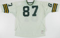 Football Collectibles:Uniforms, 1975 Alden Roche Game Worn Green Bay Packers Jersey. . ...