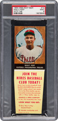 Baseball Cards:Singles (1950-1959), 1958 Hires Root Beer Wally Post #14 PSA Mint 9 - Pop One, NoneHigher! ...