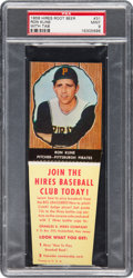 Baseball Cards:Singles (1950-1959), 1958 Hires Root Beer Ron Kline #31 PSA Mint 9 - Pop Three,...