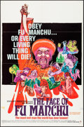 """Movie Posters:Horror, The Face of Fu Manchu (Seven Arts, 1965). One Sheet (27"""" X 41""""). Horror.. ..."""
