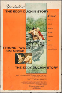 "The Eddy Duchin Story & Other Lot (Columbia, 1956). One Sheet (27"" X 41"") & Insert (14"" X..."