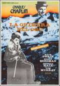 """Movie Posters:Comedy, The Gold Rush & Other Lot (Iberoamericana, R-1983). Spanish OneSheet (27.5"""" X 39.5"""") & Pakistani Poster (27.5"""" X 38.5""""). Co...(Total: 2 Items)"""