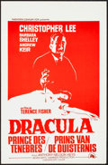 "Movie Posters:Horror, Dracula, Prince of Darkness (20th Century Fox, 1966). Belgians (2) (14"" X 21.5"") 2 Styles. Horror.. ... (Total: 2 Items)"