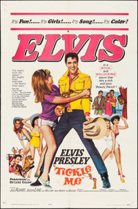 "Tickle Me (Allied Artists, 1965). One Sheet (27"" X 41""). Elvis Presley"