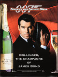 """Movie Posters:James Bond, James Bond Commercial Poster Lot (Various, 1997-2002). Rolled andFolded, Very Fine. Posters (4) (17"""" X 23.25,"""" 23.5"""" X 31.5...(Total: 4 Items)"""