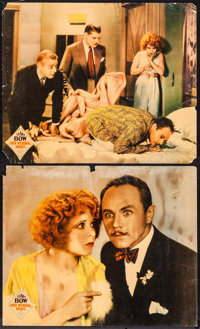 "Her Wedding Night (Paramount, 1930). Linen Finish Jumbo Lobby Cards (2) (14"" X 17""). Comedy. ... (Total: 2 Ite..."