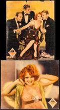"Movie Posters:Comedy, Her Wedding Night (Paramount, 1930). Linen Finish Jumbo Lobby Cards(2) (14"" X 17""). Comedy.. ... (Total: 2 Items)"