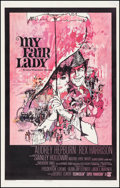 "Movie Posters:Musical, My Fair Lady (Warner Brothers, 1964). One Sheet (27"" X 41"").Musical.. ..."