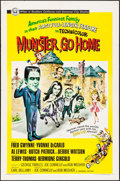 """Movie Posters:Comedy, Munster, Go Home (Universal, 1966). One Sheet (27"""" X 41""""). Comedy.. ..."""