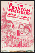 "Movie Posters:Comedy, The Phantom President (Paramount, 1932). Uncut Pressbook (MultiplePages, 9.5"" X 14""). Comedy.. ..."