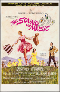 "The Sound of Music (20th Century Fox, 1965). One Sheet (27"" X 41"") Academy Award Style. Academy Award Winners..."
