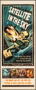 "Movie Posters:Science Fiction, Satellite in the Sky (Warner Brothers, 1956). Insert (14"" X 36""). Science Fiction.. ..."