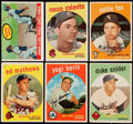 Baseball Cards:Sets, 1959 Topps Baseball Partial Set (359/572).. ...