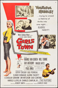 "Girls Town (MGM, 1959). One Sheet (27"" X 41""). Bad Girl"