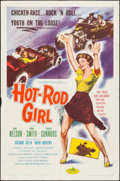"Movie Posters:Bad Girl, Hot Rod Girl (American International, 1956). One Sheet (27"" X 41"").Bad Girl.. ..."