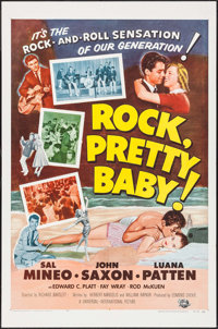 "Rock, Pretty Baby (Universal International, 1957). One Sheet (27"" X 41""). Rock and Roll"