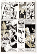 Original Comic Art:Panel Pages, Rick Hoberg, Bill Wray, and Dave Stevens What If? #16Partial Story Original Art Group of 2 ...