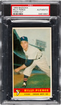Baseball Cards:Singles (1950-1959), 1959 Bazooka Billy Pierce PSA Authentic - None Higher....