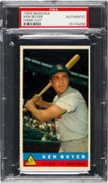 Baseball Cards:Singles (1950-1959), 1959 Bazooka Ken Boyer PSA Authentic - None Higher. ...
