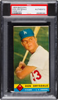 Baseball Cards:Singles (1950-1959), 1959 Bazooka Don Drysdale (SP) PSA Authentic.  Don...
