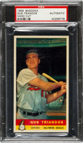 Baseball Cards:Singles (1950-1959), 1959 Bazooka Gus Triandos PSA Authentic - Only One Higher. ...